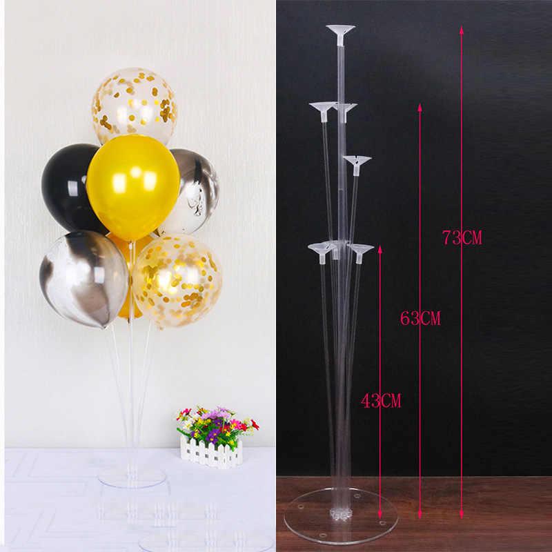 Cyuan บอลลูนอุปกรณ์เสริม Balon Garlands Arch พลาสติกขาตั้งคอลัมน์สำหรับงานแต่งงาน Baby Shower วันเกิดอุปกรณ์ตกแต่ง