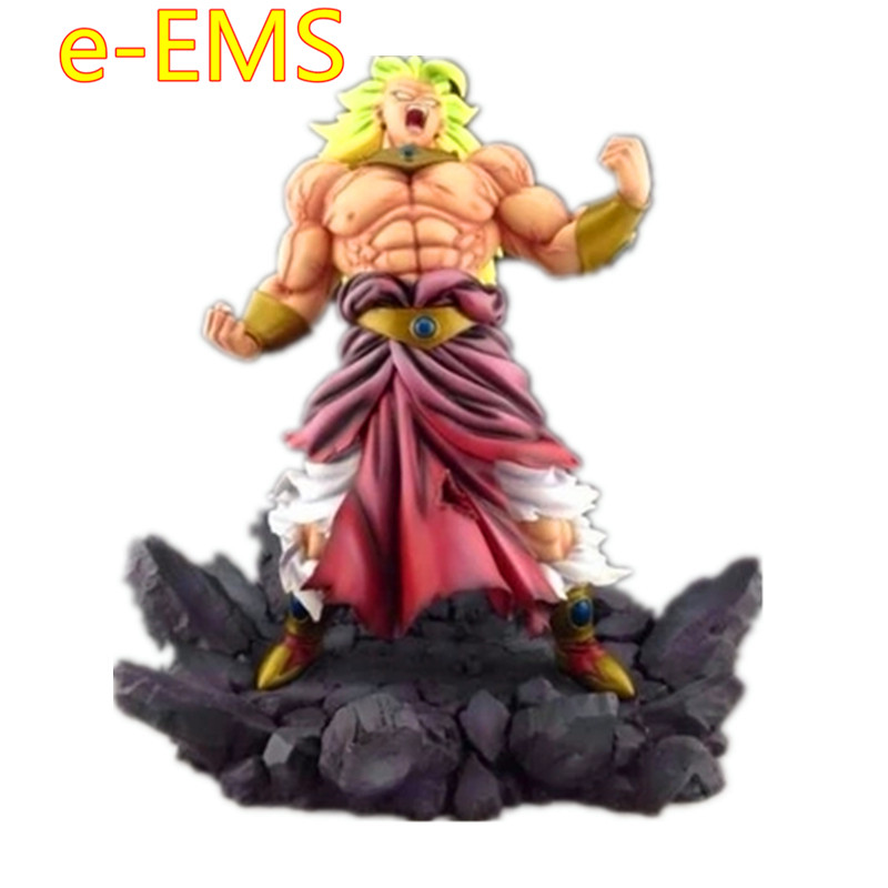 Dragon Ball Z Super Saiyan 3 Super Soldier Broli Resin Statue Action Figure Collection Model Toy G2255Dragon Ball Z Super Saiyan 3 Super Soldier Broli Resin Statue Action Figure Collection Model Toy G2255