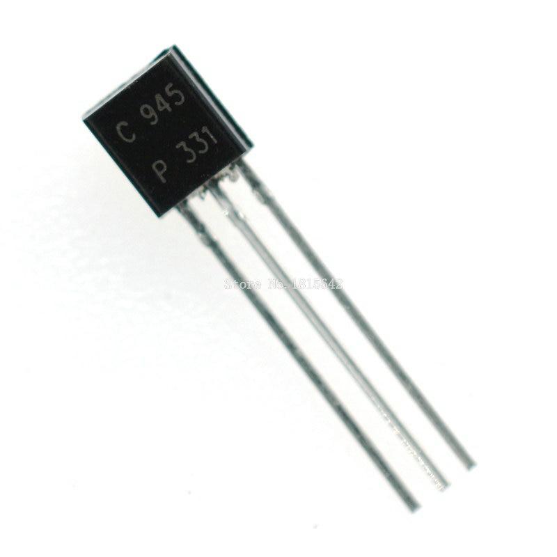 Transistors Bipolaire NPN BC547B Boitier TO92 20