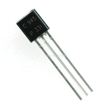 100PCS/Lot C945 2SC945 Triode to-92 50V/0.1A/0.5W/250MHZ Wholesale Electronic - sale item Active Components