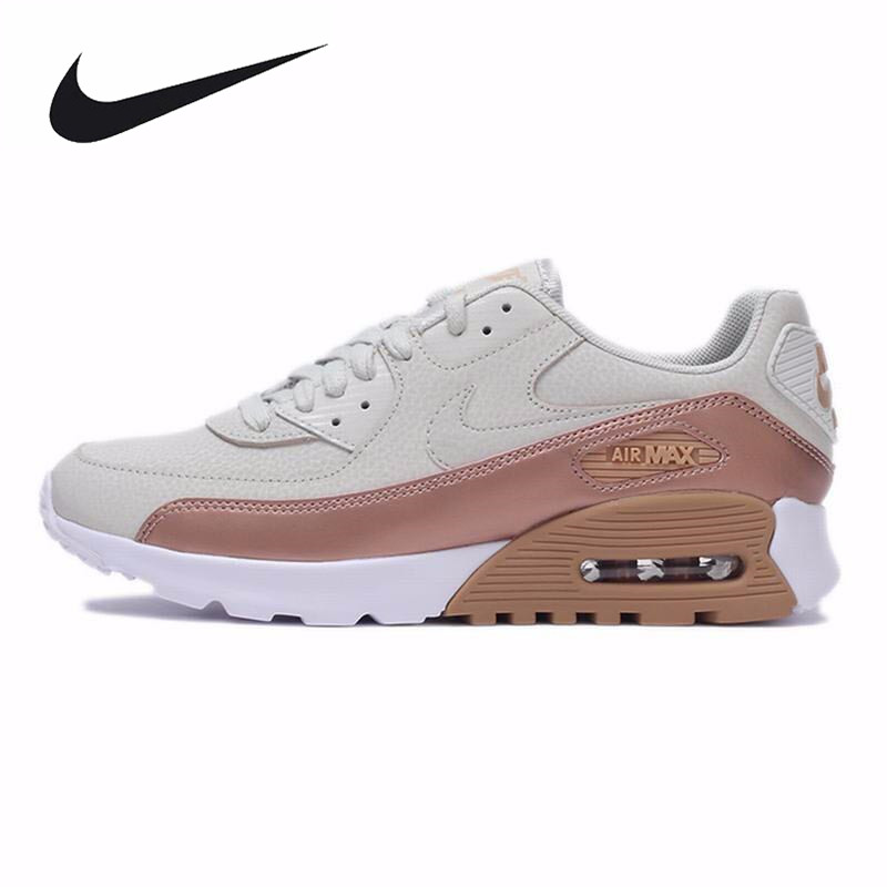 Original New Arrival Official NIKE air max 90 Women's Running Shoes Sneakers Trainers nike original 2017 summer new arrival air max 90 women s running shoes sneakers