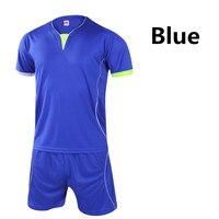 2016サッカージャージとショーツトレーニングスーツ服セットサッカーtシャツスポーツウェア用男性女性サッカースポーツ衣類l400