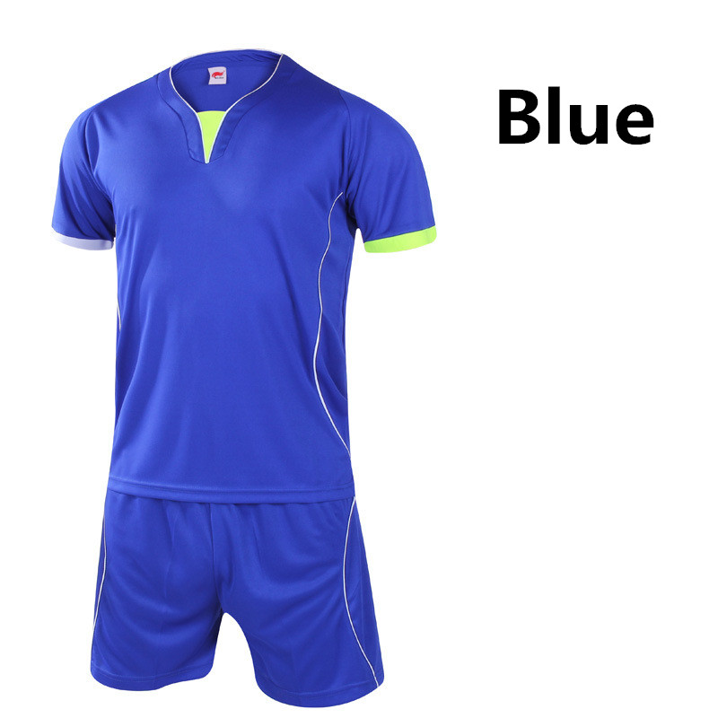 2016 football jersey and shorts suit clothes set