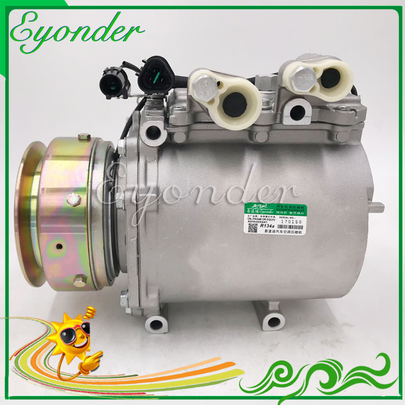 Air Conditioning AC A/C Compressor Cooling Pump MSC130CV for MITSUBISHI DELICA SPACEGEAR SPACE GEAR L400 2.8L 4M40T AKC200A601A