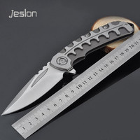 Jeslon F86 Practical Utility Outdoor Survival Folding Knife Camping Tactical Knives Pocket Hand Multi Functional Tool