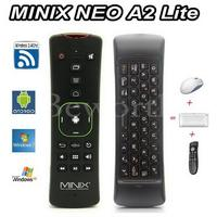 MINIX NEO A2 Lite 2.4 GHz Sans Fil Clavier Gaming Fly Air Souris 6-axis Gyroscope Smart Télécommande pour X92 Android TV Box PC