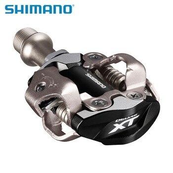 Shimano XT PD M8000 M8020 Pedais Da Bicicleta Auto-Bloqueio Pedais SPD MTB Componentes Usando para Bicicleta de Corrida de Bicicleta de Montanha partes