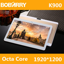 10.1 pulgadas K900 Octa Core 4G LTE Tablet Android 6.0 RAM 4 GB ROM 64 GB 8.0MP Tarjeta SIM Dual Bluetooth GPS Tablets 10 pulgadas tablet pc