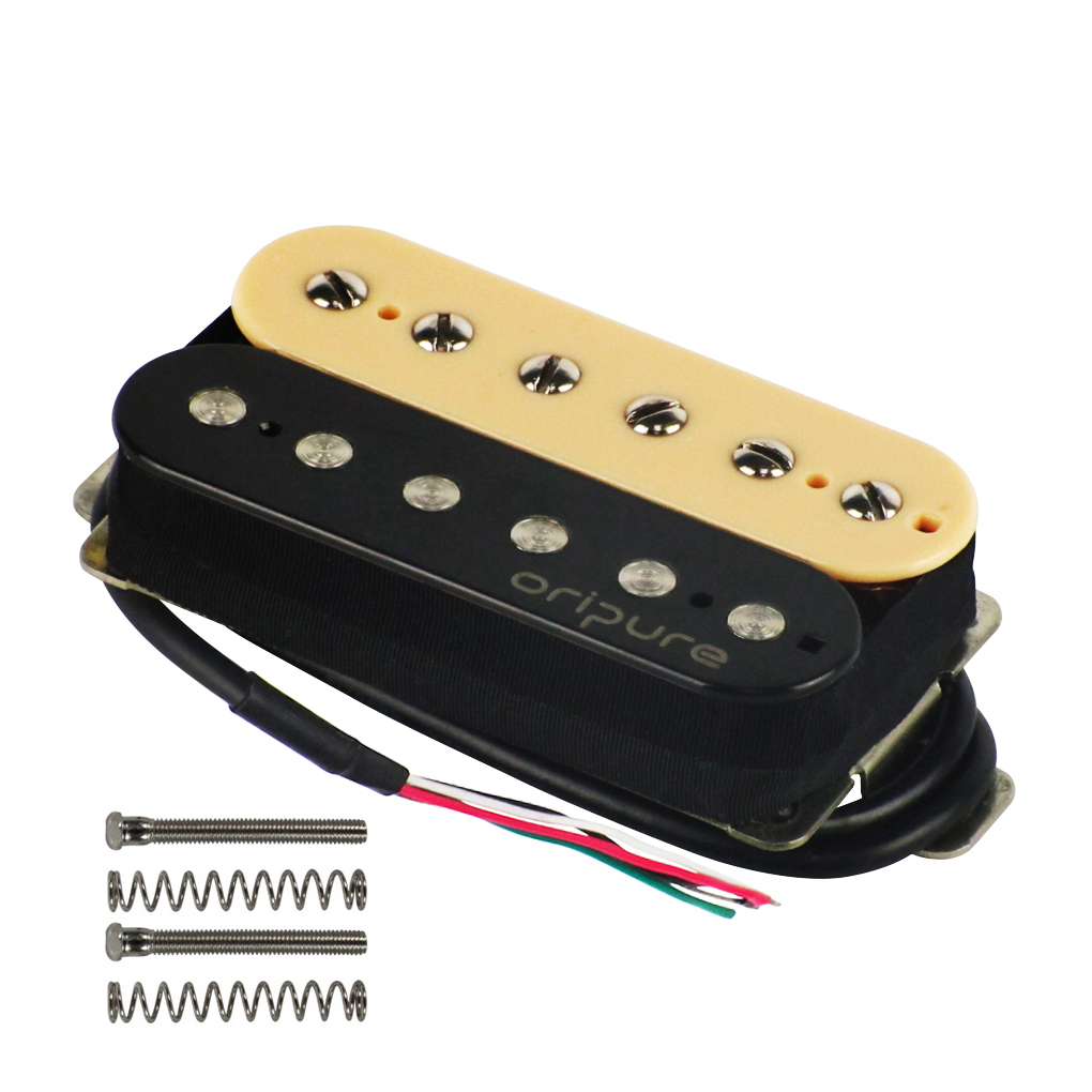 OriPure High Quality Alnico 5 Electric Guitar Pickup Humbucker Alnico V Neck or Bridge Choose Zebra