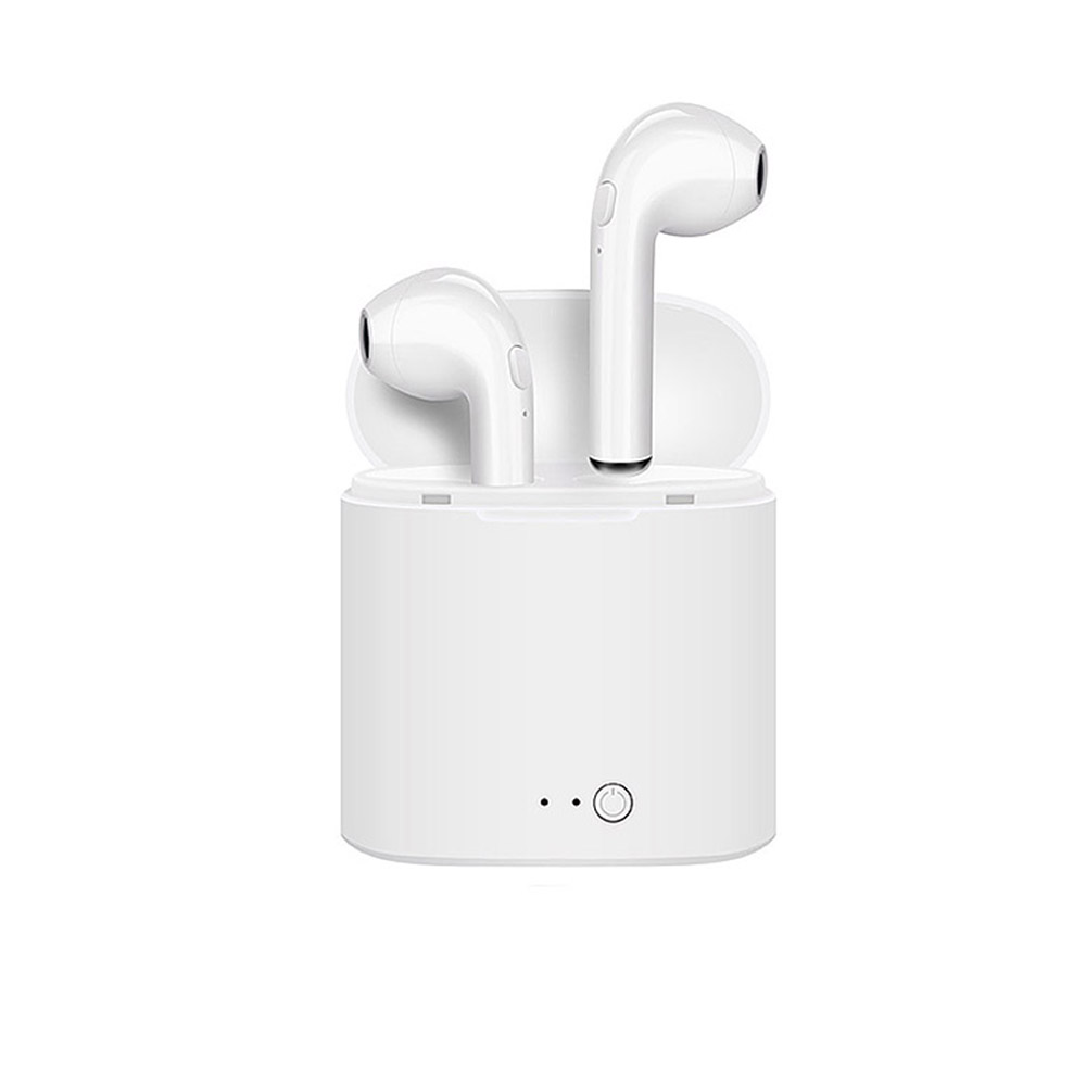 HU for Samsung Xiaomi Airpro Bluetooth Earphones Wireless Earbuds I7 TWS Headset Twins Stereo Music for Apple IPhone 7 8 6 Plus