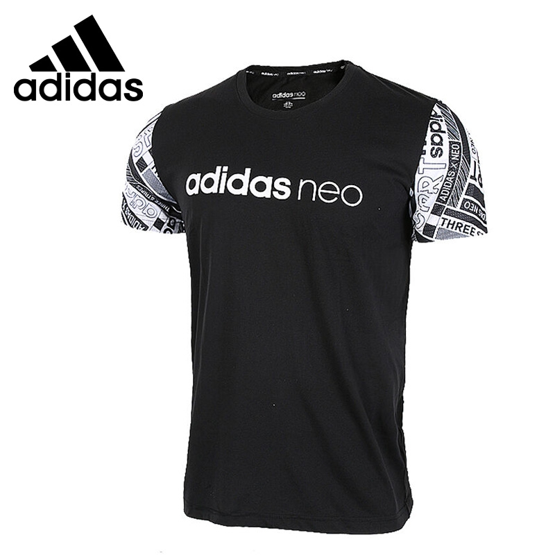 Original New Arrival Adidas NEO Label M BST LOGO T Men's T-shirts short sleeve Sportswear original new arrival 2018 adidas neo label fav tshirt men s t shirts short sleeve sportswear