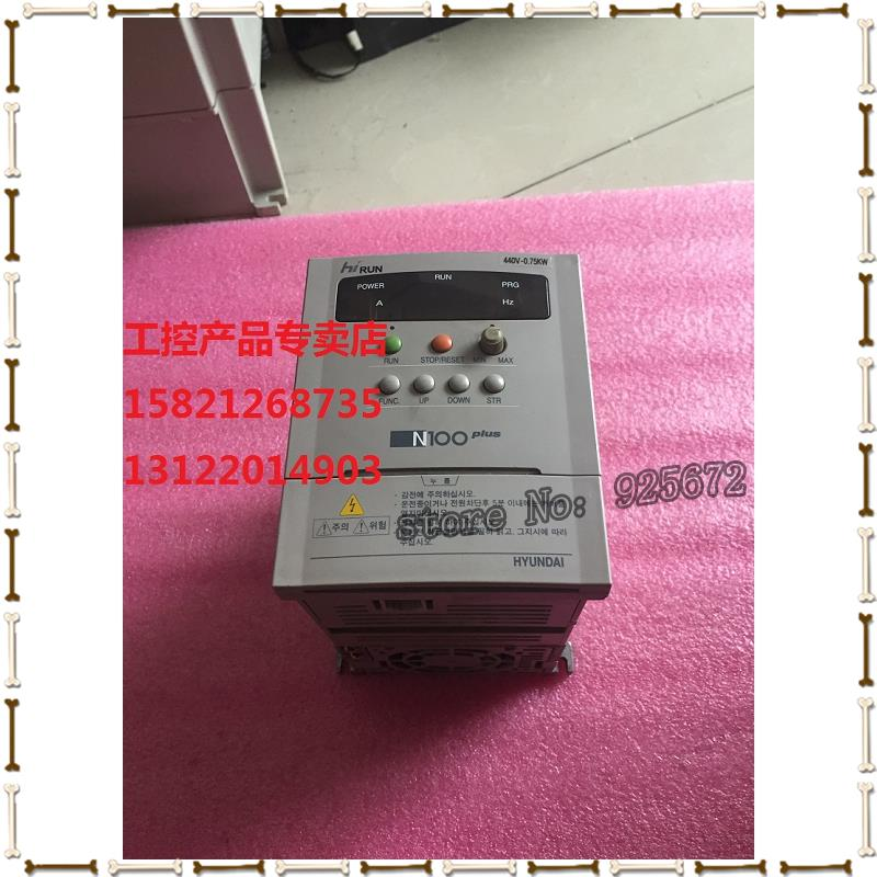 hf inverter N100PLUS - 007 0.75 KW 440 v physical figure had been test package in the inverter e vfd022e21a photo 2 2 kw 220 v has been test package is good