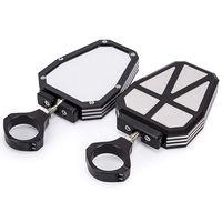 Liga de alumínio 1.75 Polegada utv offroad espelho retrovisor lateral para rzr espelho quebrar com bola junção universal para polairs rzr 100|Espelho e capas| |  -