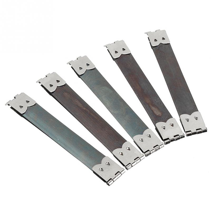 10 PCS DIY Metal Internal Flex Frames Clasp Bag Purse Handbag Sewing Internal Replace Hinges Spring Clip Repair Accessories