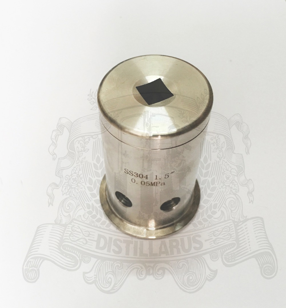 2(OD64) Tri Clamp  Pressure  Safety Valve/ Vacuum Breaker 0.5bar. Stainless steel 304 мужские боксеры brand new mu51800000