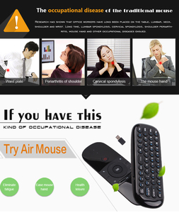 Image 5 - Wechip W1 Engels Versie 2.4Ghz Draadloze Toetsenbord Mini Fly Air Mouse Met Ir Leerfunctie Voor Tv Box Computer x96 Mini H96