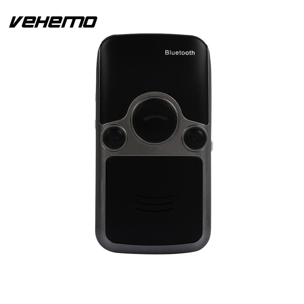 где купить Vehemo Sun Visor Speaker Bluetooth Car Hands-Free Wireless Transmitter Bluetooth Mic Bluetooth Car Kit MP3 Handsfree Music по лучшей цене