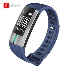 Kobwa G20 ЭКГ Спорт умный Браслет Фитнес интеллектуальной деятельности трекер активности Приборы для измерения артериального давления браслет