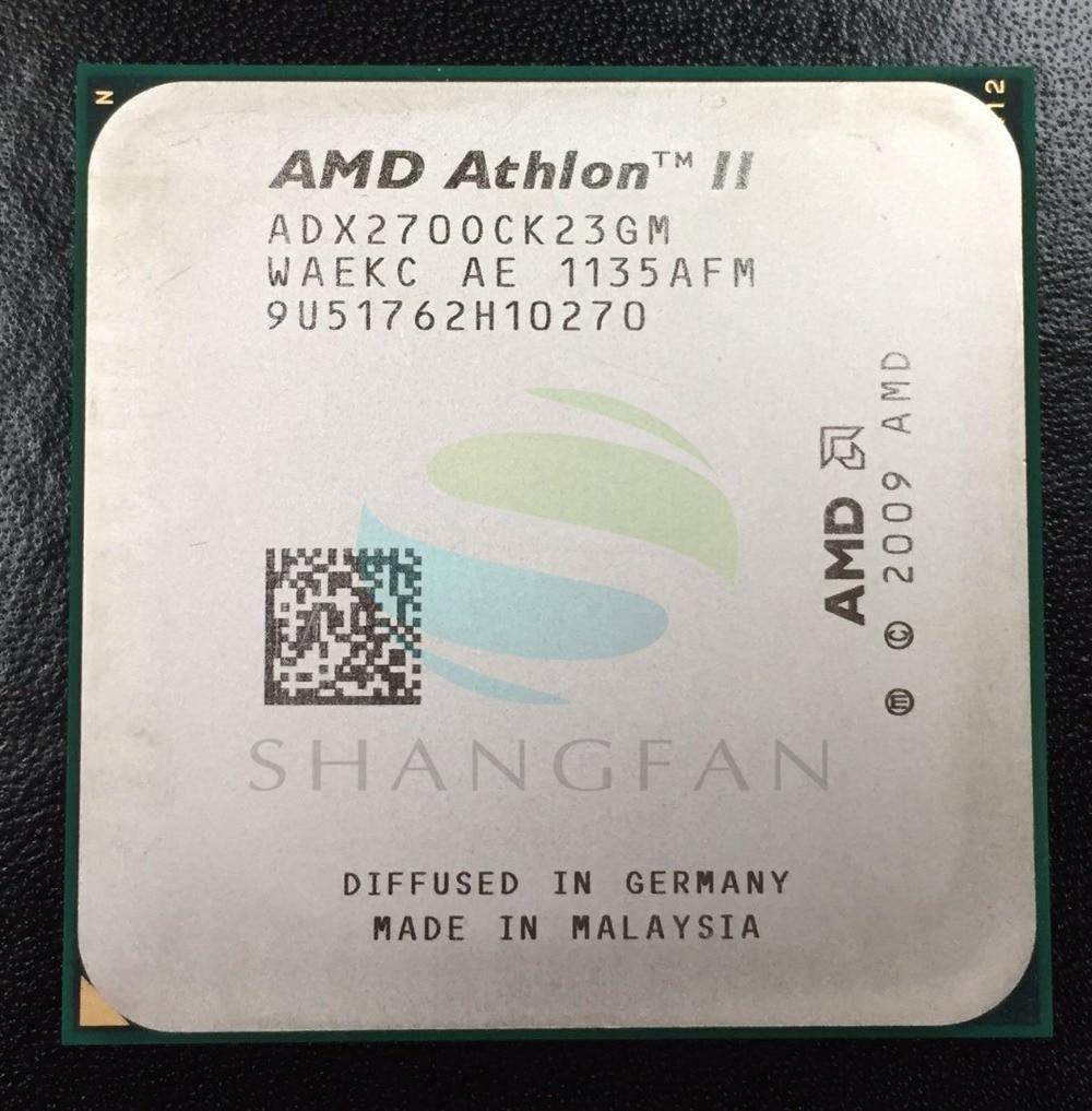 Free Shipping For AMD Athlon X2 270 3.4GHz Dual-Core CPU Processor ADX270OCK23GM Socket AM3 938pin