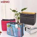 KEENICI Nueva 13 Colores Bolsas De Almacenamiento de Cosméticos Multifuncional Hacer Up Organizador Del Bolso de Las Mujeres de Los Hombres Ocasionales de Viaje Bolsa de Maquillaje bolso