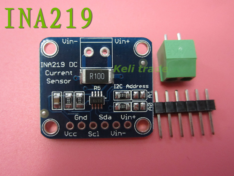 1pcs Zero drift CJMCU - 219 INA219 I2C interface Bi-directional current/power monitoring sensor module