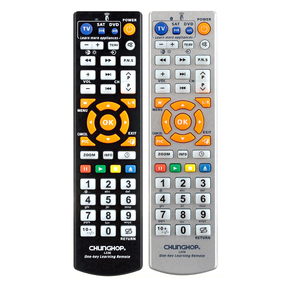 l336 universal smart remote control with with learning function best best distance 8m. Black Bedroom Furniture Sets. Home Design Ideas
