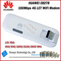 Wholesale Original Unlock LTE FDD 150Mbps HUAWEI E8278 4G Mobile WiFi Dongle And HUAWEI 4G WiFi Modem