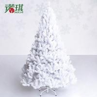 1.8 meters, qi Christmas tree 180 cm white Christmas tree, Christmas decoration luxury encryption package 5.2 kg