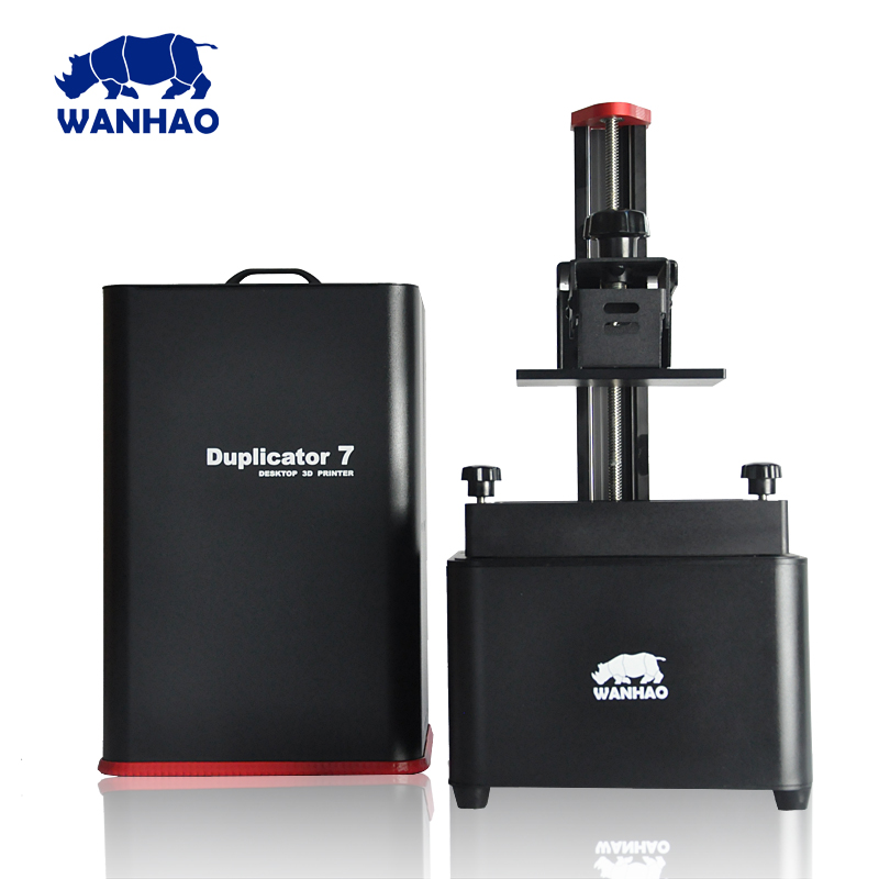 2017 New Version DLP/SLA Wanhao 3D Printer Wanhao Duplicator 7 V1.4 With anti-wobble kit Design,More Stable,250ml resin for free