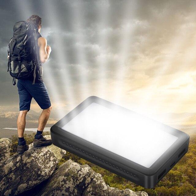 DCAE 8000 мАч Банк силы Быстрого Заряда 2.0 Dual USB Автомобильное Зарядное Устройство Портативный powerbank Внешняя Батарея для Xiaomi iPhone