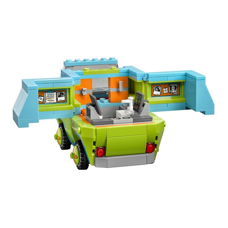 Scooby doo the The mystery machine Doo the mystery Legoing scooby Blocks Toys