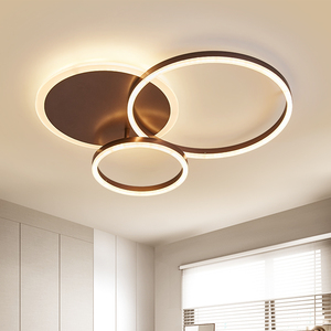 Image 5 - חום/לבן led נברשת לסלון חדר שינה מטבח נברשת Inddor בית תאורה מודרני נברשת תאורה lampadari