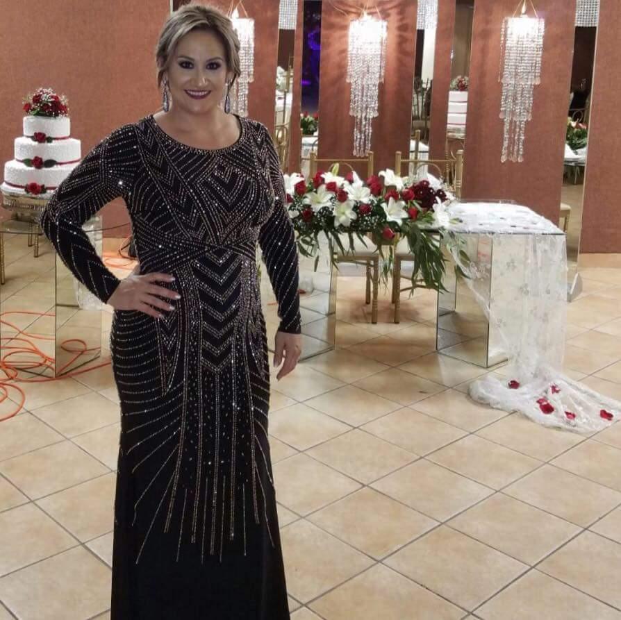 Luxury Mother Of The Bride Dresses Long Sleeve Floor