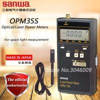Sanwa OPM35S optyczne/moc lasera metrów; 50mW moc lasera miernik z RS 232C interfejs w Mierniki mocy od Narzędzia na