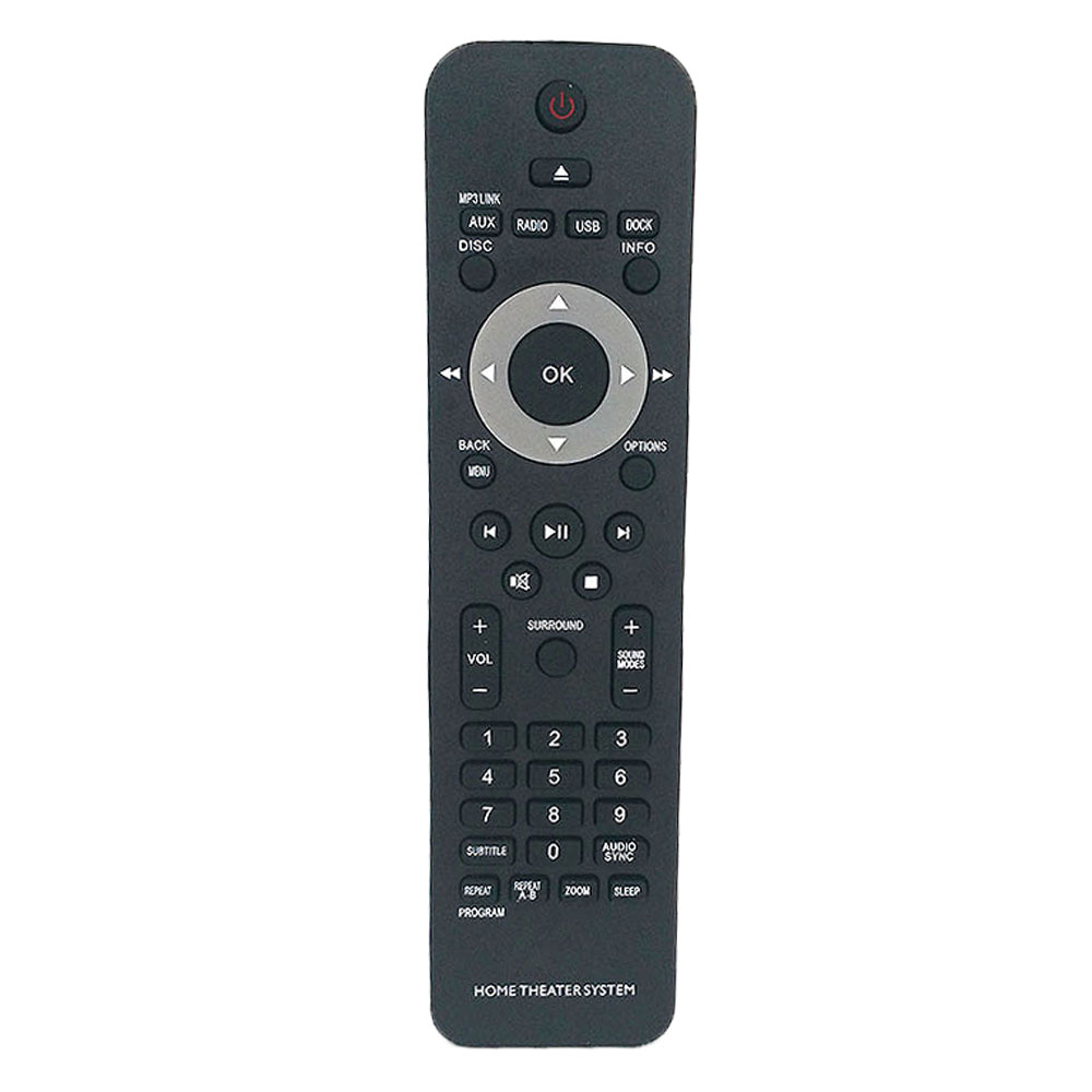 4Pcs/ lot Wholesale New Remote Control For <font><b>Philips</b></font> <font><b>HOME</b></font> <font><b>THEATER</b></font> SYSTEM <font><b>Remoto</b></font> <font><b>Controle</b></font> Fernbedienung image
