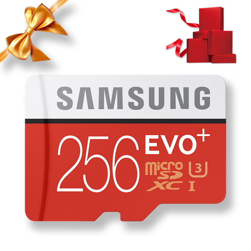 Image 4 - SAMSUNG 100% Original Micro sd Card 256G 128GB 64GB 100Mb/s Class10 U3 U1 SDXC Grade EVO+ flash card Memory Microsd TF/SD Cards-in Memory Cards from Computer & Office