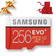 SAMSUNG Microsd Card 256G 128GB 64GB 32GB 16GB 8GB 100Mb/s Class10 U3 U1 SDXC Grade EVO+ Micro SD Card Memory Card TF Flash Card