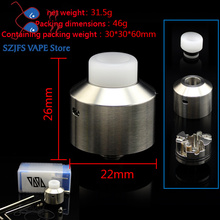 SXK NAREA RDA low oil atomizer 316 stainless steel 22mm diamater rda Vaporizer Reconstruction Atomizer tank