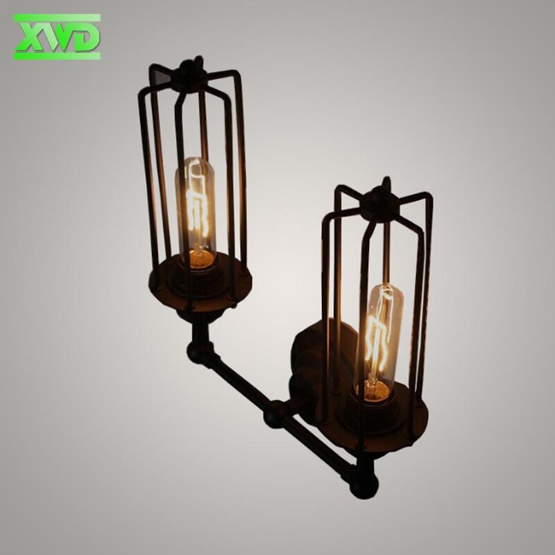 Vintage U alakú, festett beltéri fali lámpaipar / klub / étkező - Beltéri világítás