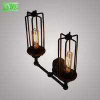 Vintage U Shape Iron Painted Indoor Wall Lamp Industry/Club/Dining Hall/Foyer/Shop Lighting E27 Lamp Holder 110 240V