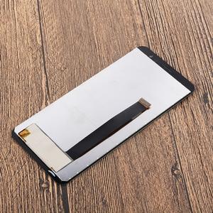 """Image 3 - Цветной для UMI Umidigi A1 Pro ЖК дисплей и сенсорный экран с рамкой 5,5 """"аксессуары для телефонов UMI Umidigi A1 Pro + пленка"""
