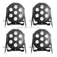 4pcs Lot Good Quality Led Par Quad 7x12w Wash Dmx Par Light American Dj Par Rgbw