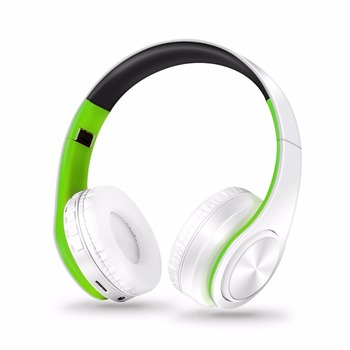 Free Shipping Wireless Bluetooth Headphone Stereo Headset Music Headset Support SD Card with Mic for Mobile Ipad 4