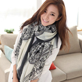 2017 Spring and Autumn Accessories Korean Luxury Brand Fashionable Silk Shawl and Scarves for Women's Summer Sunscreen Cape