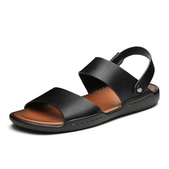 2019 sandalias de playa para hombre para caminar al aire libre playa de verano Zapatos de agua antideslizantes tamaño grande suave S-220