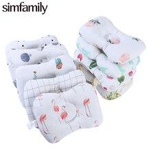 [Simfamily] вогнутая форменная Подушка для новорожденных, удерживающие подушки для младенческого сна, поддерживающая подушка для защиты головы, детская подушка с рисунком