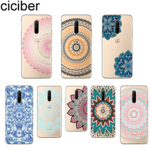 ciciber Phone Case For Oneplus 7 Pro 1+7 Pro Soft TPU Cover for Xiaomi 9 Coque For Redmi Note 7 6 Pro Funda Shell Mandala Flower