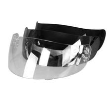 Прозрачный/серебряный Цвет мотоциклетный шлем козырек объектив для NENKI Шлемы 802