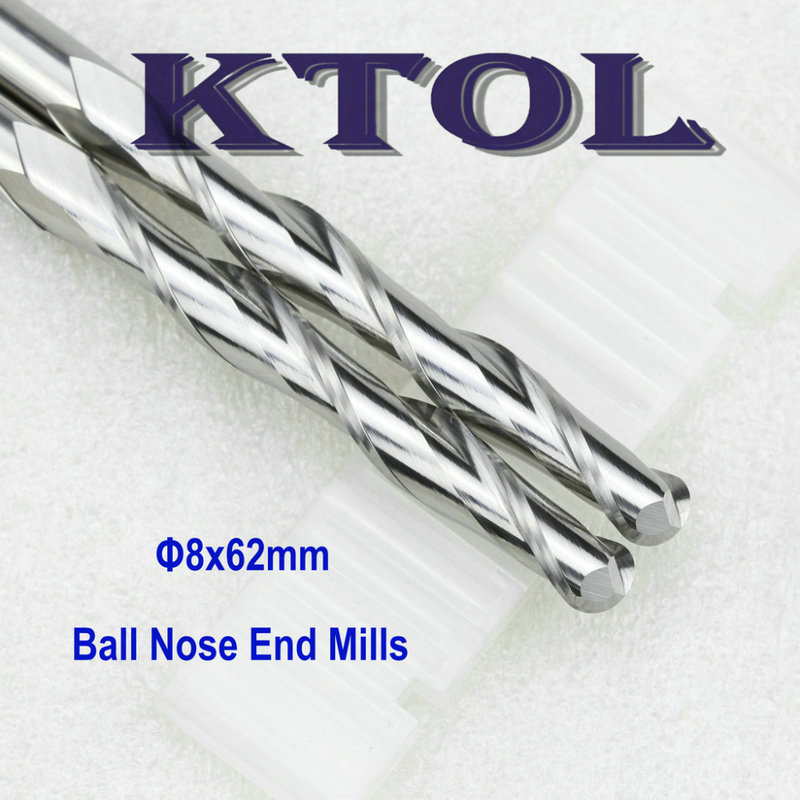 ball nose end mill milling cutter router bit set engraving machine tool_1