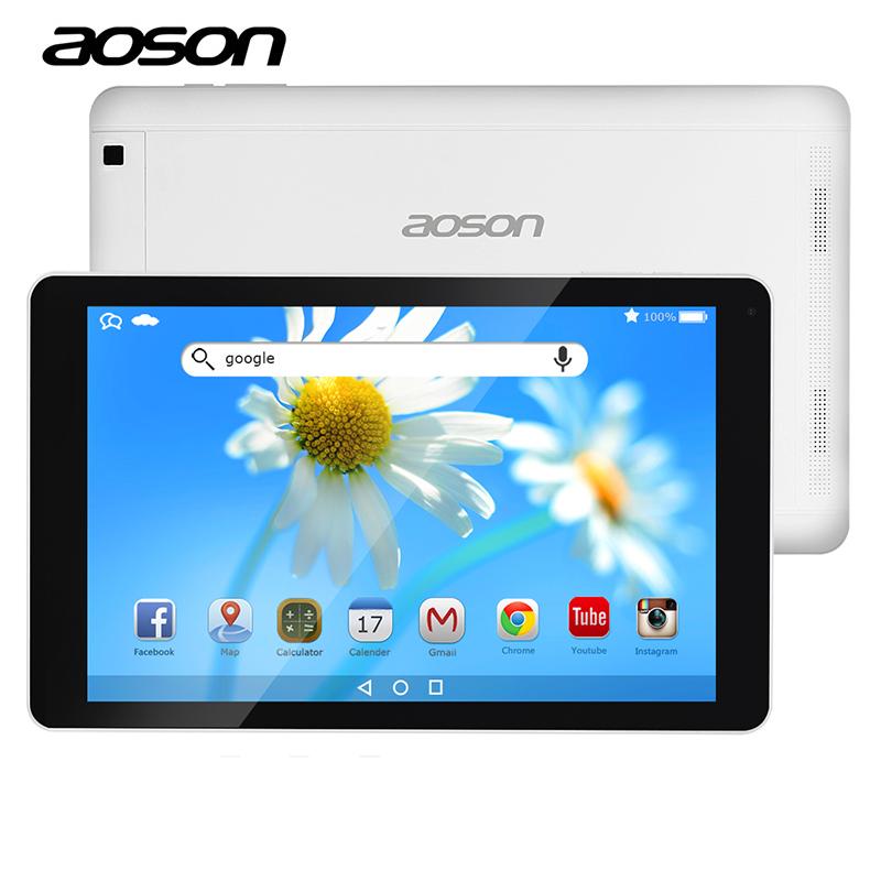 Prix pour Nouveau Aoson R102 10.1 pouce Android 6.0 Tablet PC IPS Écran 800*1280 16 GB ROM 1 GB RAM Double Caméras WIFI Bluetooth GPS Pas Cher Tablet